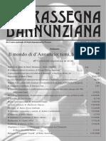 40° CONVEGNO - Rassegna dannunziana 65-66