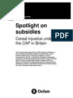Spotlight on Subsidies