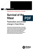 Survival of the Fittest: Pastoralism and climate change in East Africa