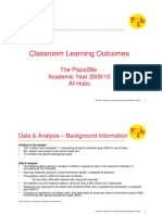 The Place2Be Classroom Learning Outcomes 09/10