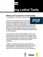 Tracking Lethal Tools