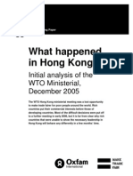 What Happened in Hong Kong? Initial analysis of the WTO Ministerial, December 2005