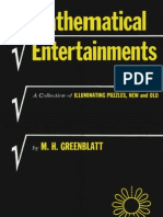 Mathematical Entertainments - A Collection of Illuminating Puzzles, New and Old