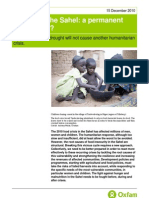 Hunger in the Sahel