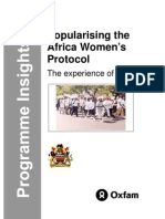 Africa Women's Protocol