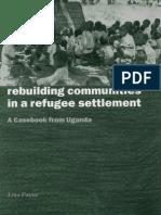 Rebuilding Communities in a Refugee Settlement