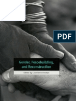 Gender, Peacebuilding, and Reconstruction