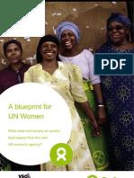 A Blueprint for UN Women