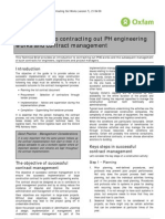 Introduction to Contracting out PH Engineering Works and Contract Management (Draft)