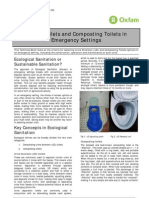 UD Toilets and Composting Toilets in Emergency Settings (Draft)