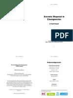 Excreta Disposal in Emergencies