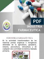 INDUSTRIA FARMACEUTICA GRUPO 5 1ER PARCIAL
