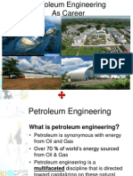 Choosing a Career in Petroleum Engineering