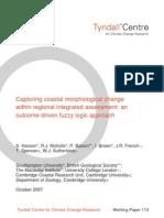 Capturing coastal morphological change within regional integrated assessment