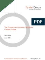 The Economics of Avoiding Dangerous Climate Change