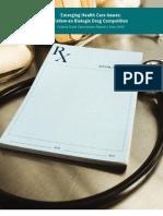 FTC report on Biologic drugs
