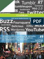 Grafdom - UAE Social Media Brands, 2011 Report