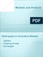 financial mkts and products