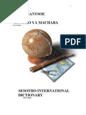 SESOTHO_INTERNATIONAL_DICTIONERY