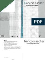 Os Novos Principios Do Urbanism - Francois Ascher