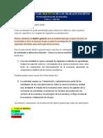 GUÍAS PARA REDACTAR OBJETIVOS Y CONCLUSIONES DE LOS TRABAJOS ESCRITOS