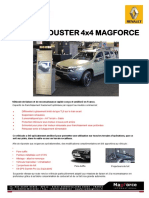 Renault Duster 4x4 Magforce FR