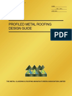 Profiled Metal Roofing Design Guide(mcrma_t05)