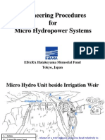 Micro Hydro Engineering Procedure(PTEI '08)F