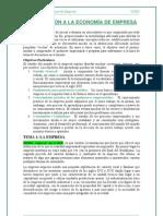 01 - I.I. UNED apuntes de introducción a la economía de empresa