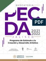 Convocatoria PECDA 2021-2022