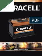 Duracell Catalogue