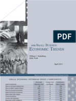 Small Business Economic Trends April 2010