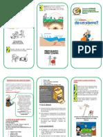 Brochure - Prevencion en Sismos