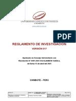Reglamento Investigacion v017-1