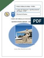 Apostila Direito Aplicado Cfsd Mód i 2021- Pós Edição