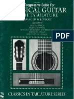 39 Progressive solos for classical guitar - book 2