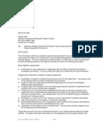 17-Punch list letter for NURFC