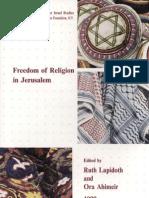 Freedom of Religion in Jerusalem