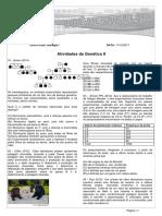 Atividade de Biologia I 11 10 Genética II