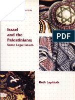 Israel and the Palestinians - Some Legal Issues