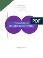 TRABAJO FINAL (Desarrollo Sostenible)