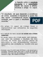 Aula 5- Fato Tipico - Nexo Causal e Tipicidade (1º Elemento Do Crime)
