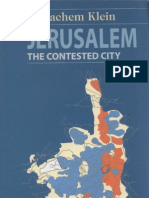 Jerusalem the Contested City