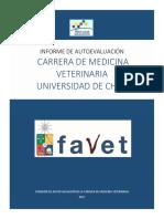 Informe de Autoevaluación Carrera de Medicina Veterinaria Universidad de Chile
