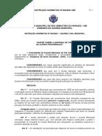 Instrução Normativa 04-2021 - Normatiza as dispensas de horas excedidas