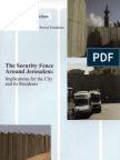 The Security Fence Around Jerusalem
