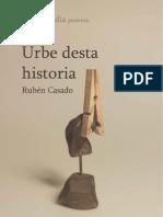 URBE DESTA HISTORIA de Rubén Casado Murcia
