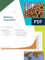 Maratona - Aulas 9 e 10 - Dinâmica demográfica