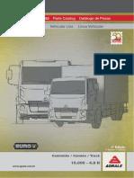 Catálogo de Peças - Caminhão 10000 - 4.8 h - Euro v - 1ª Edição