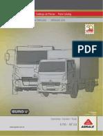 Catálogo de Peças Caminhão 8700 - Isf 3.8 - Euro v - 1ª Edição